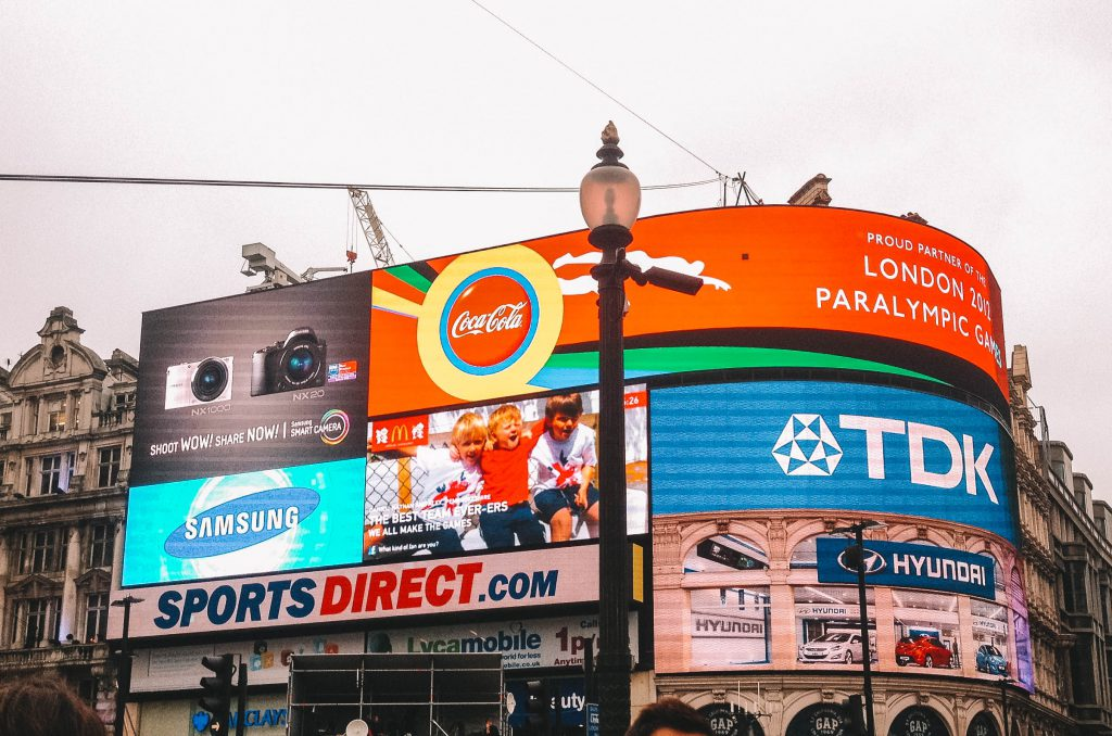 Picadilly Circus Londen