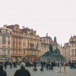 Oudestadsplein in de oude stad van Praag