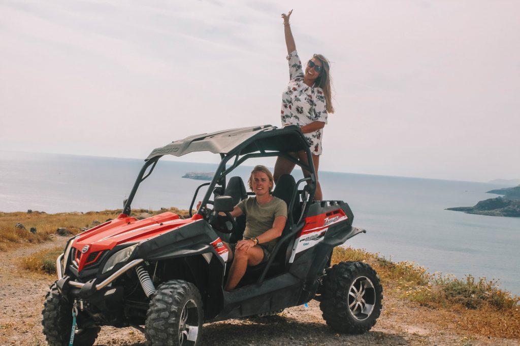 Buggy huren Santorini