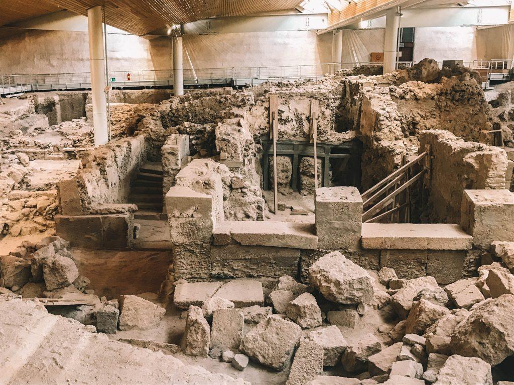 Opgravingen Santorini