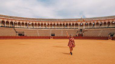 Auto reisroute Andalusië