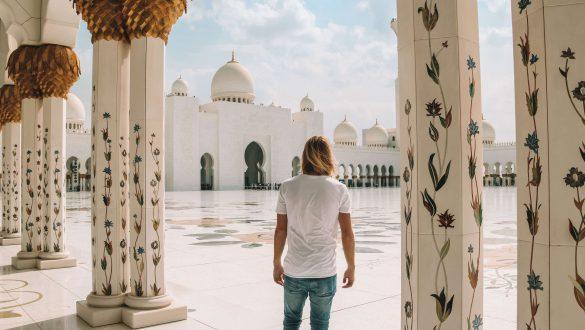 Sheikh Zayed Grand Mosque binnen