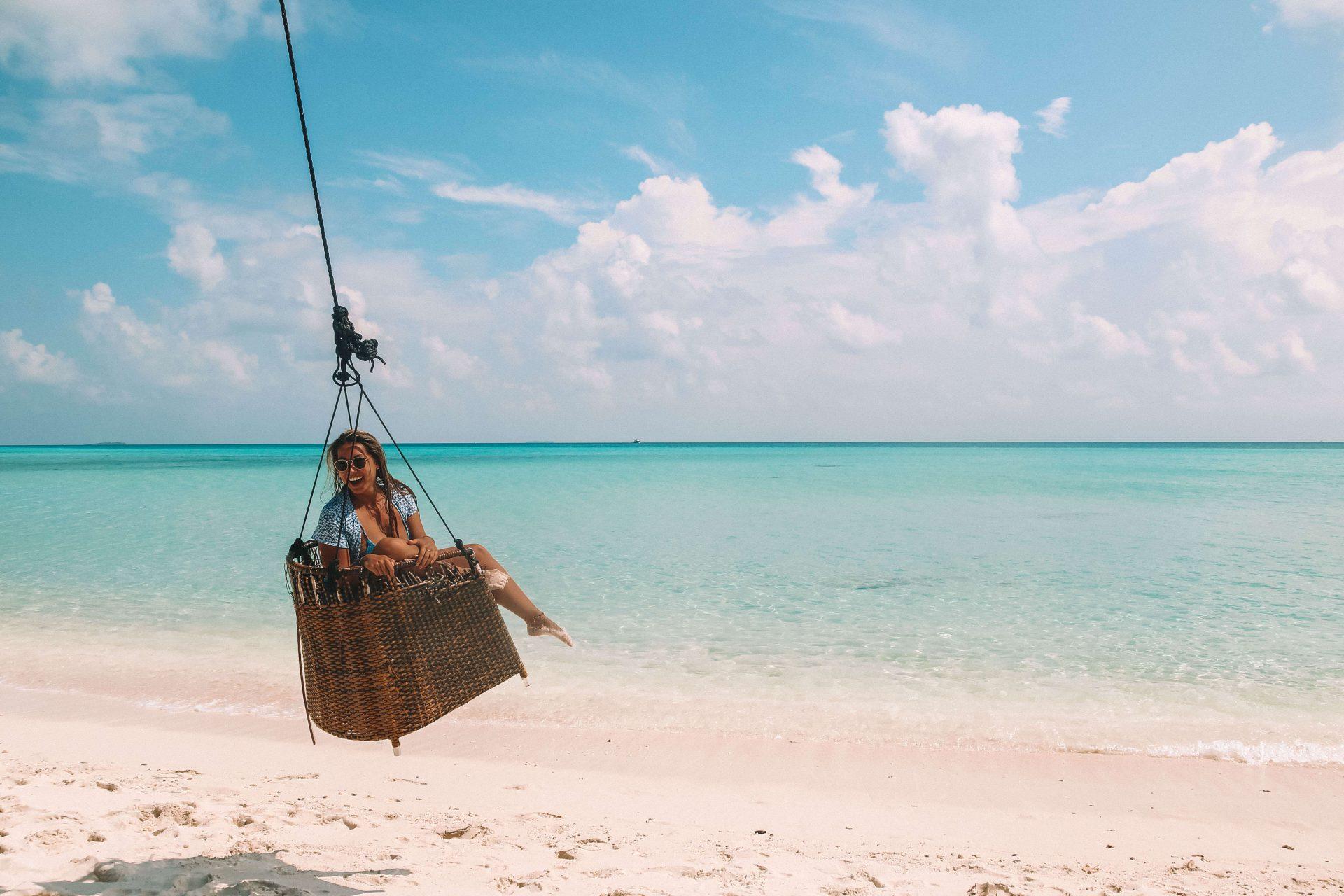 Schommel Malediven