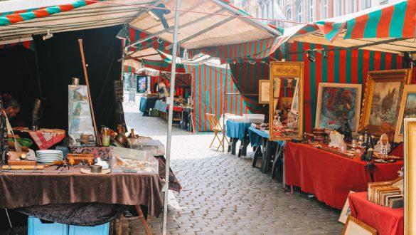 Antiekmarkt Brussel