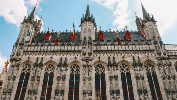 Het stadhuis van Brugge