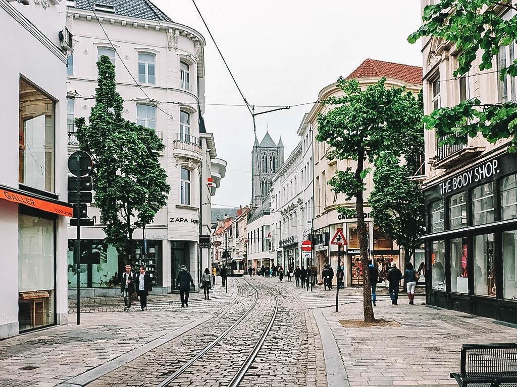 Winkelen Gent