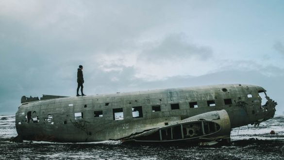 Solheimasandur Plane Wreck/DC-3 Plane Wreck