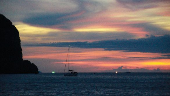 zonsondergang Koh Phi Phi