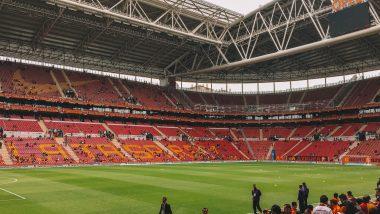 Voetbalwedstrijd Galatasaray