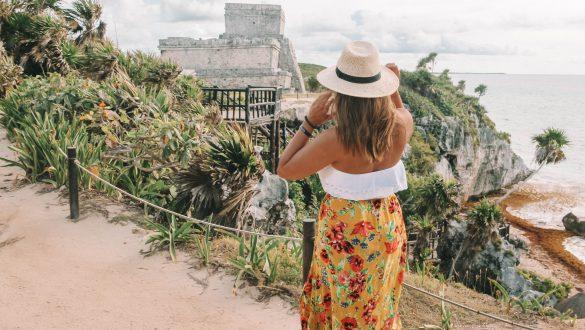 de Maya Ruïnes van Coba Tulum