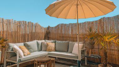 Staycation balkon - zomervakantie 2020