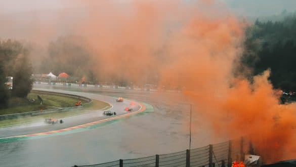 Formule 1 Spa-Francorchamps Pouhon