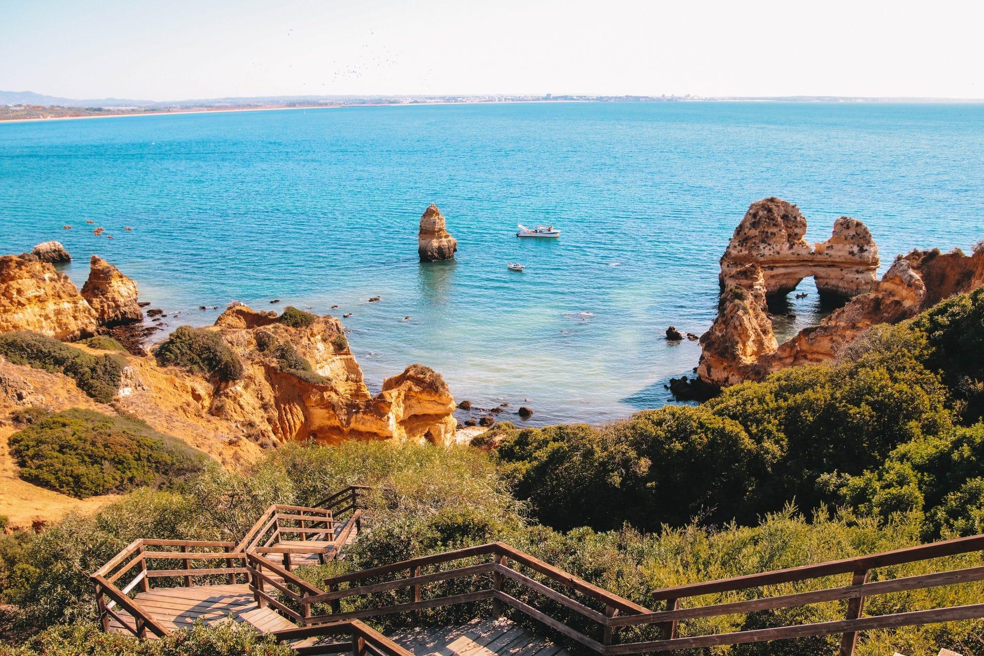 Praia do Camilo Lagos