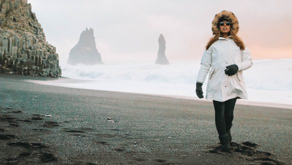 Black Sand Iceland after Preset