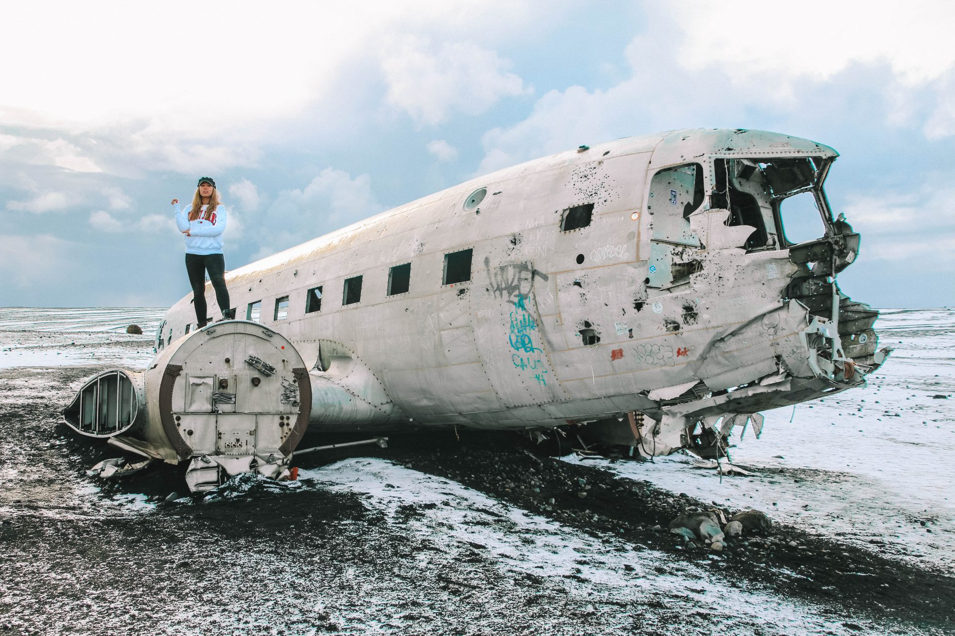 DC-3 Plane Wreck - Road trip Iceland