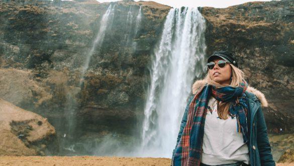 Seljalandsfoss Waterfall Selfoss