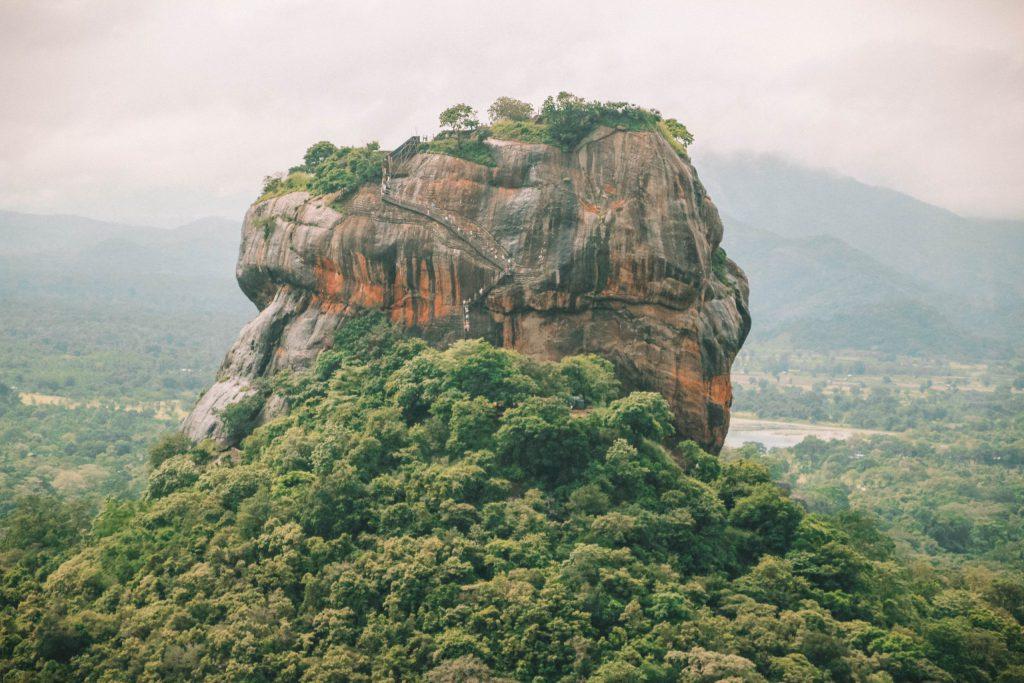 Sigiriya Rock - Lion Rock