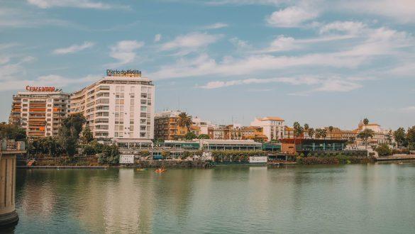 Guadalquivir river Seville