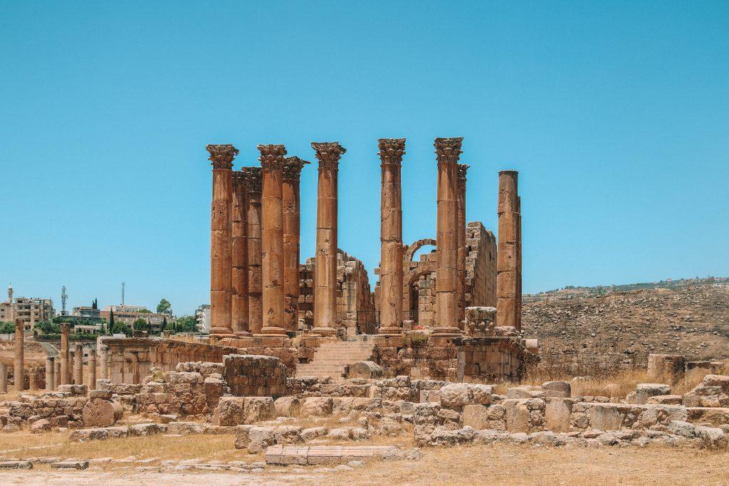 Ruïnes of Jerash