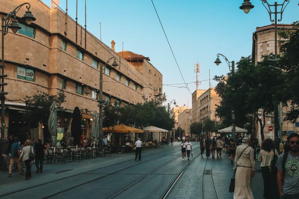 Jaffa Street Jerusalem