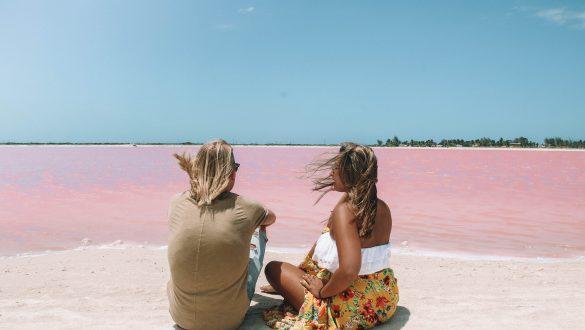 Pink Lakes Las Coloradas